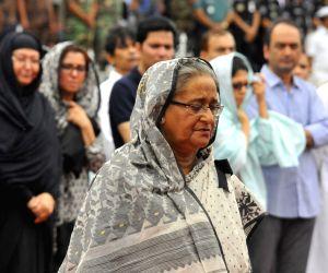BANGLADESH DHAKA ATTACK MEMORIAL SERVICE