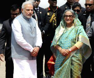 BANGLADESH DHAKA INDIAN PRIME MINISTER VISIT