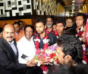 BANGLADESH DHAKA CRICKET TEAM RETURN