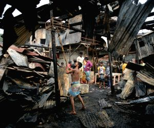 BANGLADESH DHAKA SHOPPING COMPLEX FIRE