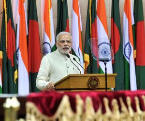 PM Modi and Sheikh Hasina's joint press briefing