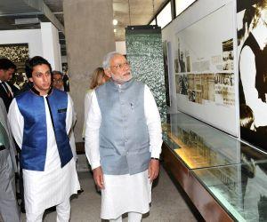 PM Modi at Bangabandhu Memorial Museum