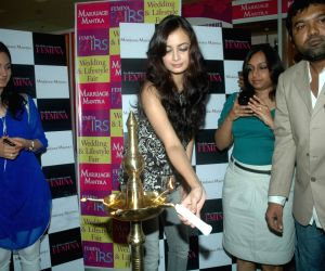 Dia Mirza at Femina Fair