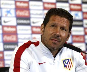 Atletico coach not focused on possible team transfers