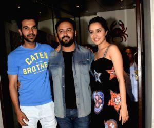 "Wrap up party of film ""Stree"" - Amar Kaushik, Rajkummar Rao and Shraddha Kapoor"