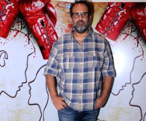 "Trailer launch of film ""Mukkabaaz"" - Anand L. Rai"