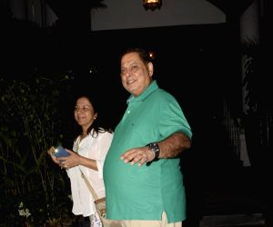 David Dhawan at a Juhu restaurant