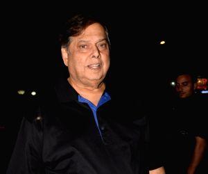 Director David Dhawan during his father Jeetendra's birthday celebration in Mumbai on April 8, 2018.