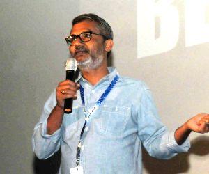 Director Nitesh Tiwari of the film DANGAL at the Master Class during the 48th International Film Festival of India (IFFI-2017), in Panaji, Goa on Nov 23, 2017.