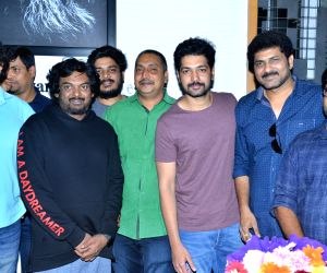 Puri Jagannadh during poster launch