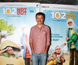 "Special screening of film ""102 Not Out"" - Rajkumar Hirani"