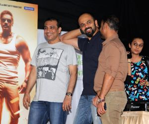 Promotion of the film Singham Returns