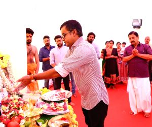 "Mahurat of film ""Maari 2"" - Suriya and Selvaraghavan"