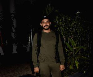 Shashank Khaitan at a Juhu restaurant