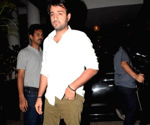 Siddharth Anand seen outside a restaurant