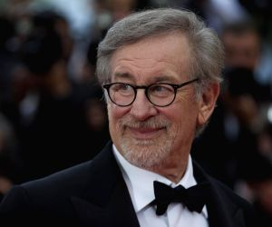 """:Director Steven Spielberg poses on the red carpet as he arrives for the screening of the film """"The BFG"""" at the 69th Cannes Film Festival in Cannes, France, May 14, ..."""