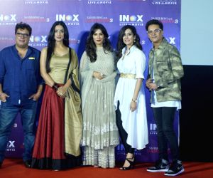 "Promotion of film ""Saheb Biwi Aur Gangster"" - Tigmanshu Dhulia, Mahie Gill, Jimmy Sheirgill and Chitrangada Singh"