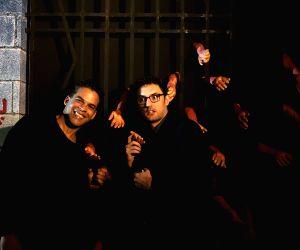 "Black carpet premiere of horror series ""Ghoul"" -  Vikramaditya Motwane and Kilian Kerwin"