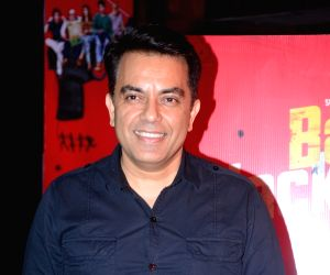 "Director Vishwas Paandya at the music launch of his upcoming film ""Baa Baa Black Sheep"" in Mumbai on March 1, 2018."