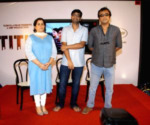 Press meet of film Titli