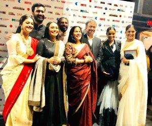 Indian Film Festival of Melbourne - Nag Ashwin, Rajkumar Hirani, Rani Mukerji, Farhan Akhtar Keerthy Suresh, Swapna Dutt and Priyanka Dutt