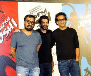 "Trailer launch of film ""Bhavesh Joshi Superhero"" - Vikramaditya Motwane, Anurag Kashyap and Harshvardhan Kapoor"