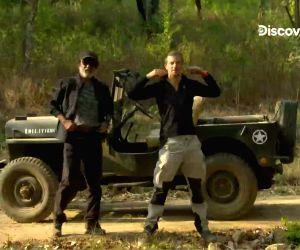 Free Photo: Discovery's Grylls shares Rajinikanth's TV debut video