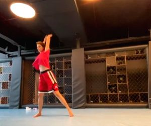 Disha Patani aces flying kicks