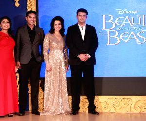"Press meet for stage musical show  ""Beauty and The Beast"""