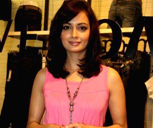 Diya Mirza at the launch of Vero Moda store.