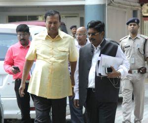 DMK's T. R. Baalu meets CEC
