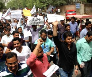 Resident doctors go on strike in Delhi,