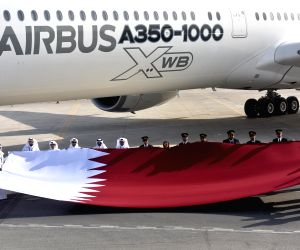 QATAR DOHA AIRBUS A350 1000 DEMONSTRATION TOUR