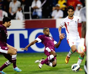 The 2014 World Cup qualifying soccer match between Iran and Qatar