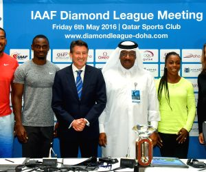 QATAR-DOHA-IAAF DIAMOND LEAGUE-PRESS CONFERENCE