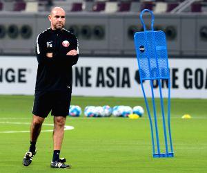 QATAR DOHA SOCCER FIFA WORLD CUP QUALIFIERS TRAINNING