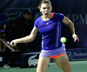 UAE DUBAI TENNIS WTA HALEP