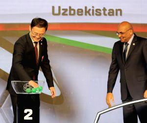 UAE DUBAI SOCCER AFC ASIAN CUP FINAL DRAW