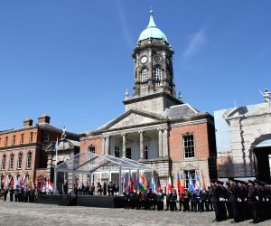 IRELAND-DUBLIN-UN PEACEKEEPING MISSIONS-CEREMONY