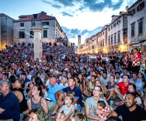 CROATIA-DUBROVNIK-SOCCER-FIFA WORLD CUP-FANS
