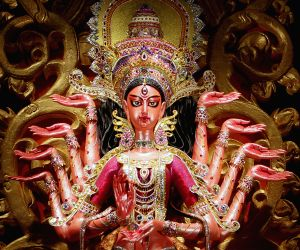 Durga Puja ends in west bengal with idol immersion on Vijaya Dashami