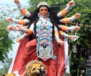 Durga Puja in Kolkata takes centre stage of political debate
