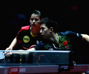 GERMANY DUSSELDORF TABLE TENNIS WORLD CHAMPIONSHIPS