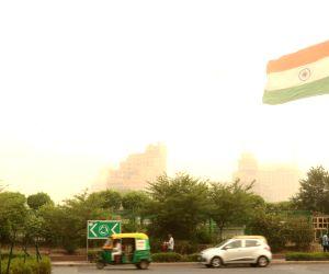 Dust storm hits hits national capital