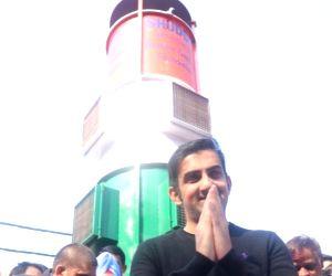 Gautam Gambhir inaugurates first-of-its-kind prototype air purifier at Lajpat Nagar
