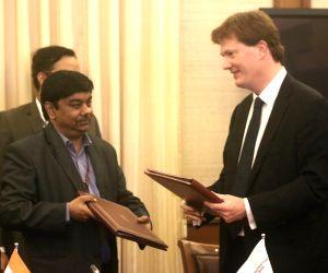 Government of India, AIIB sign MoU - S C Garg, Danny Alexander