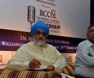 Montek Singh Ahluwalia during a programme
