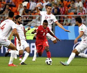 Khazri strike ends Tunisia's 40-year World Cup match victory drought