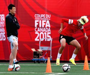 CANADA EDMONTON FIFA WOMEN'S WORLD CUP CHINA TRAINING