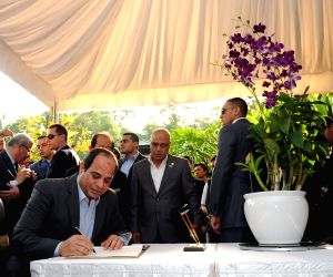 SINGAPORE-EGYPTIAN PRESIDENT-ORCHID NAMING CEREMONY